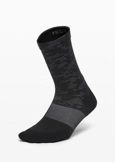 Lululemon Power Stride Crew Sock *Camo