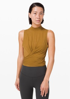 Lululemon Time to Restore Mock Neck Tank