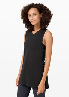 Lululemon Uncovered Tall Tank