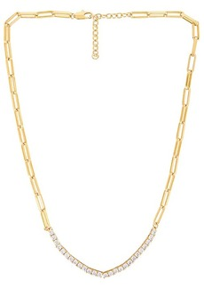 Luv AJ Ballier Chain Link Necklace