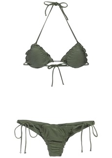 Lygia & Nanny Zaira triangle top bikini set