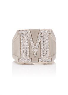 LYNN BAN Sterling Silver Diamond Ring