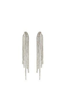 Lynn Ban Voss sapphire & sterling-silver earrings