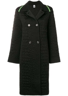 M Missoni oversized double breasted coat