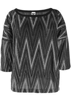M Missoni boat neck sweater
