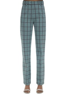 M Missoni Checked Cady Pants