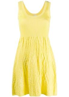 M Missoni crinkled-knit dress