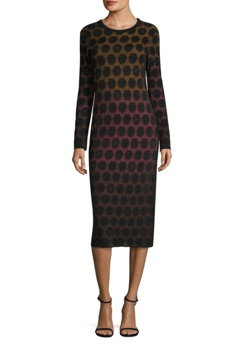 8170ac1692 M Missoni Dot Knit Midi Dress
