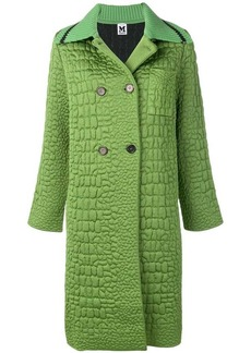 M Missoni double-breasted fitted coat