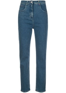 M Missoni embroidered logo jeans