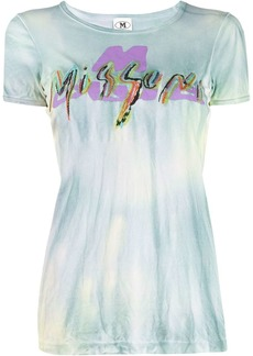 M Missoni embroidered logo T-shirt