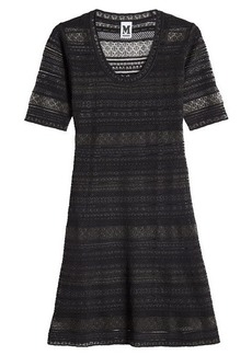 M Missoni Fit and Flare Knit Dress