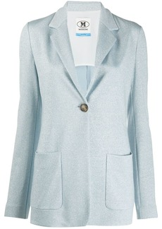 M Missoni fitted glitter effect blazer
