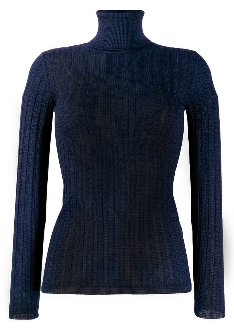 M Missoni fitted knitted top