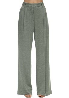 M Missoni Flared Lurex Jersey Pants