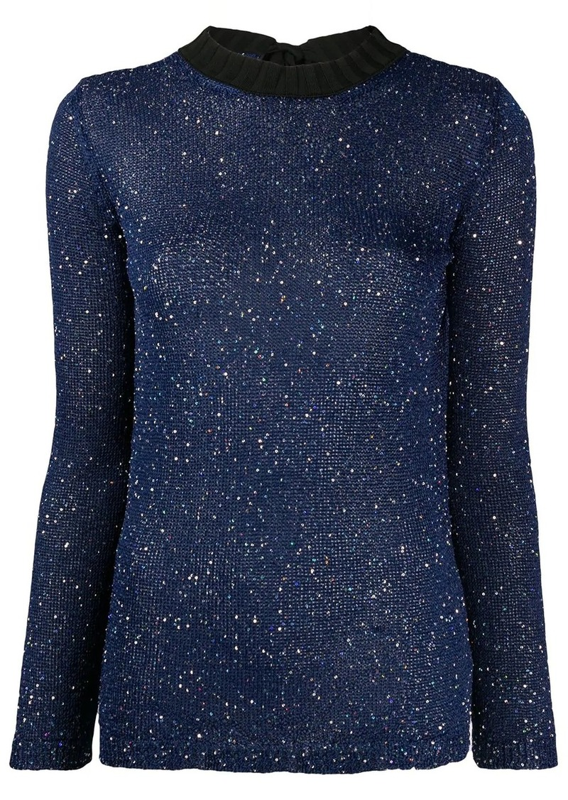 M Missoni fleck knitted top