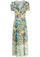 M Missoni floral-print button-through dress
