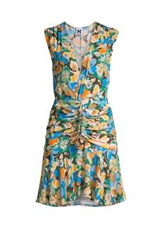 M Missoni Floral Silk Mini Dress