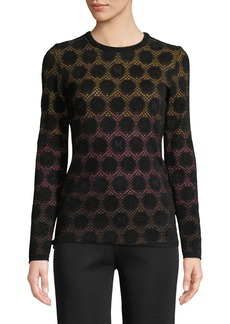 M Missoni Geometric Ombré Dot Top