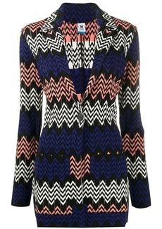 M Missoni geometric pattern cardigan