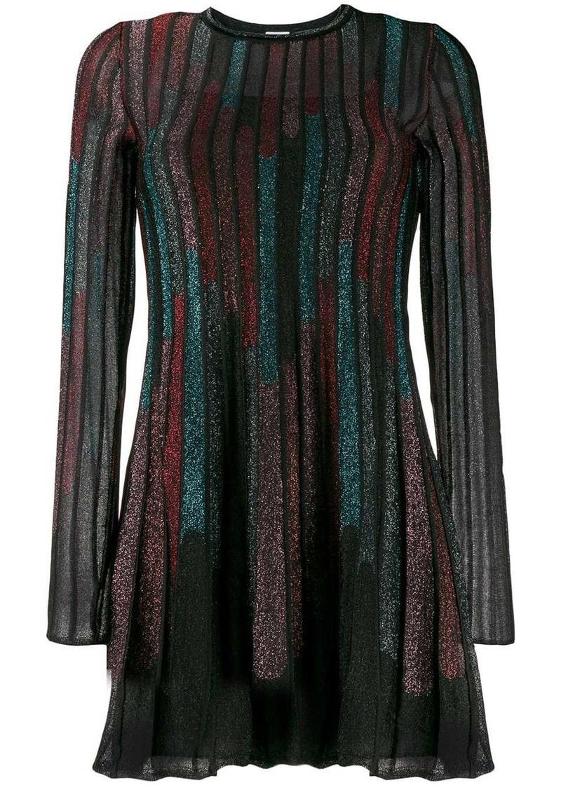 M Missoni glitter A-line dress