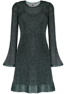 M Missoni glitter knit dress