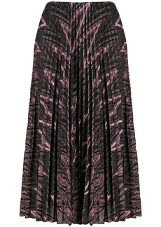 M Missoni glitter pleated skirt