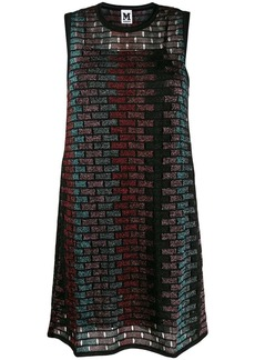 M Missoni glittered sleeveless dress