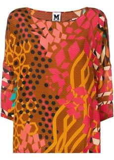 M Missoni graphic print blouse