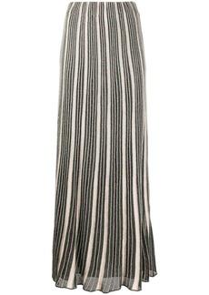 M Missoni high-waisted striped maxi skirt