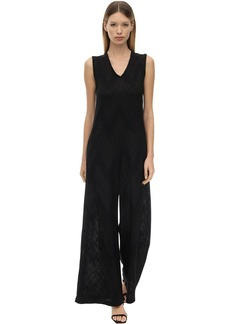 M Missoni Intarsia Lurex Knit Jumpsuit