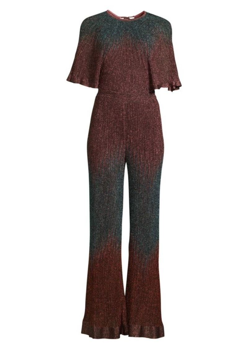 M Missoni Knit Lurex Jumpsuit