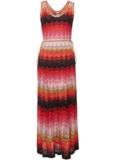 M Missoni Knit Maxi Dress with Metallic Thread