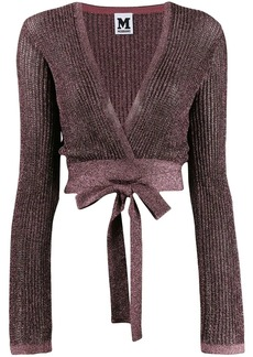 M Missoni knit shoulder shrug top