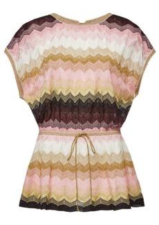 M Missoni Knit Top with Metallic Thread