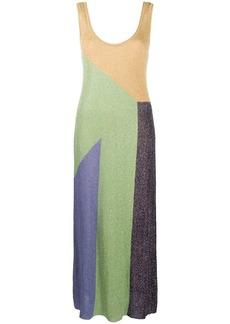 M Missoni knitted colour-block maxi dress