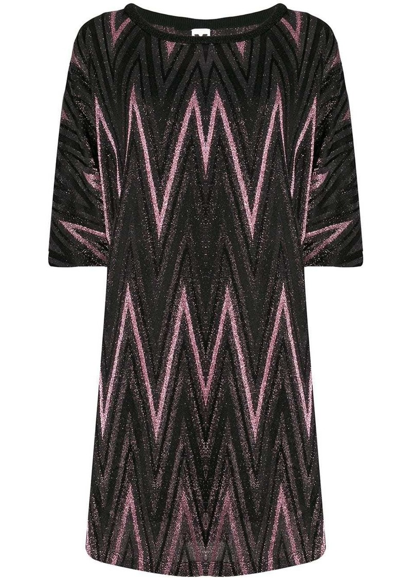 M Missoni knitted day dress