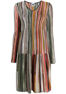 M Missoni knitted striped dress