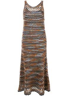 M Missoni layered sleeveless dress