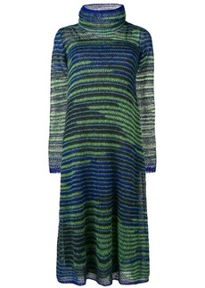 M Missoni long knitted dress
