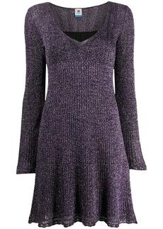 M Missoni lurex fine-knit swing dress
