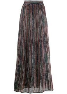 M Missoni lurex knitted skirt