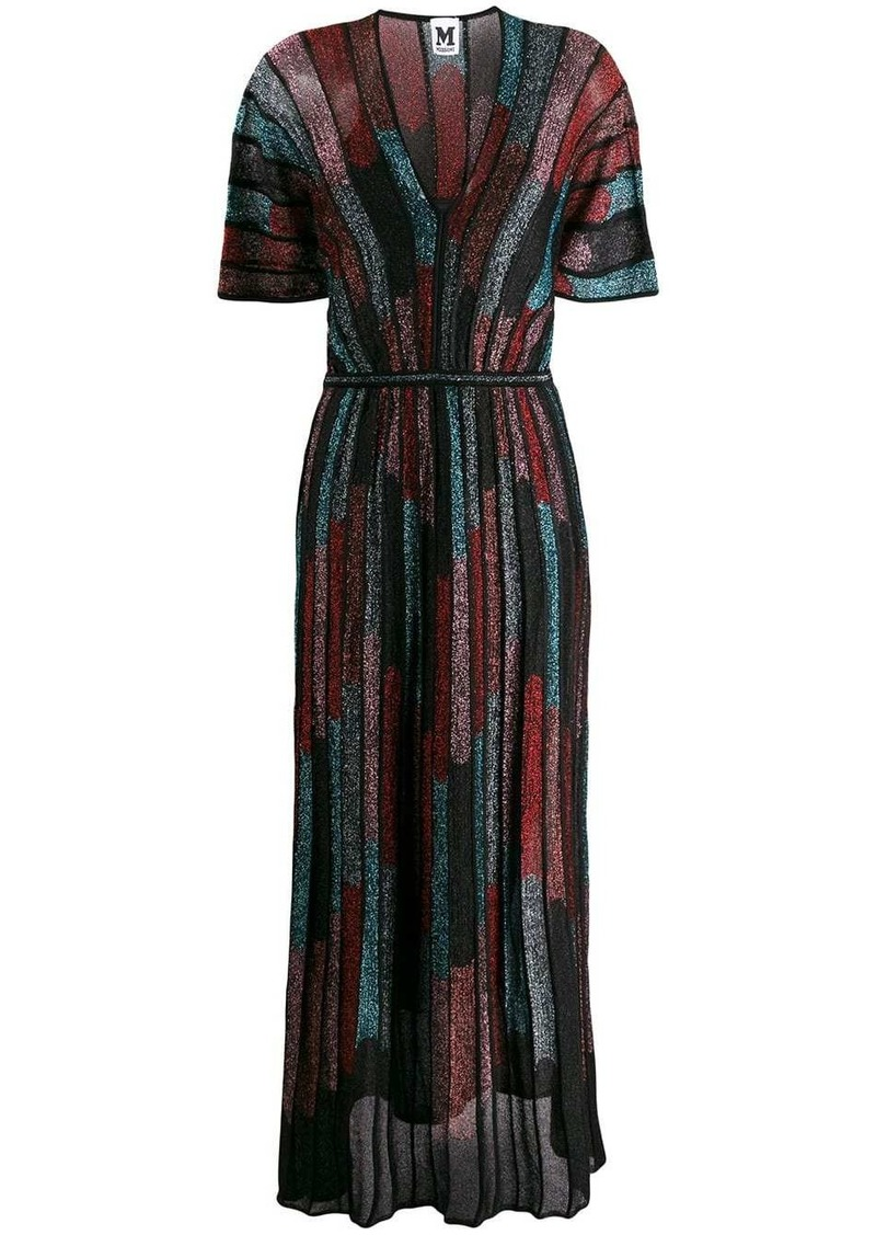 M Missoni lurex maxi dress