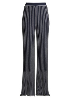 M Missoni Lurex Pleated Pants