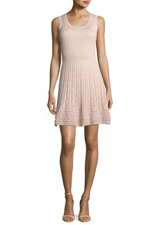 M Missoni Cable-Knit Sleeveless Dress