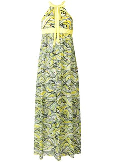 M Missoni floral flared maxi dress - Yellow & Orange