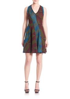 M Missoni Geolong Stitch Racerback Dress