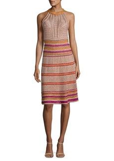 M Missoni Lurex Crochet Dress