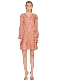 M Missoni Lurex Jersey Zigzag Dress
