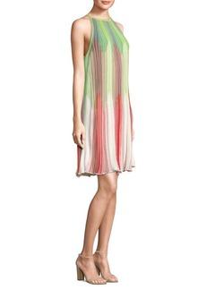 M Missoni Ombre Intarsia Shift Dress